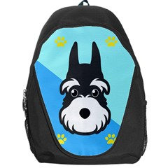 Face Dog Backpack Bag by AnjaniArt