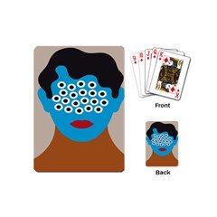 Face Eye Human Playing Cards (mini)