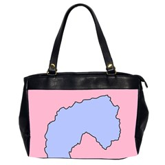 Girls Pink Office Handbags (2 Sides)