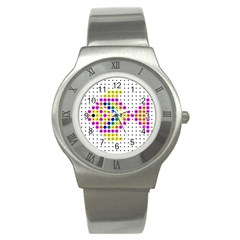 Fish Cute Stainless Steel Watch