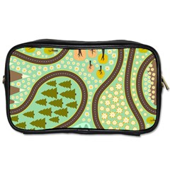 Hilly Roads Toiletries Bags 2 Side