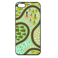 Hilly Roads Apple Iphone 5 Seamless Case (black)