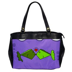 Kissing Fish Office Handbags by AnjaniArt
