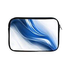 Light Waves Blue Apple Ipad Mini Zipper Cases by AnjaniArt