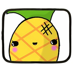 Kawaii Pineapple Netbook Case (xxl)  by CuteKawaii1982
