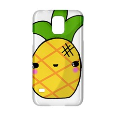 Kawaii Pineapple Samsung Galaxy S5 Hardshell Case  by CuteKawaii1982