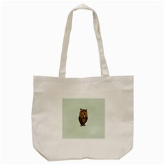 Owl Tote Bag (cream)