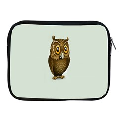 Owl Apple Ipad 2/3/4 Zipper Cases