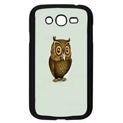 Owl Samsung Galaxy Grand Duos I9082 Case (black)