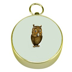 Owl Gold Compasses