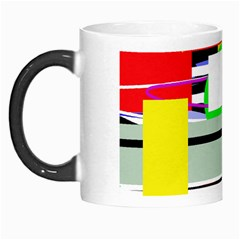 Lines And Squares  Morph Mugs by Valentinaart