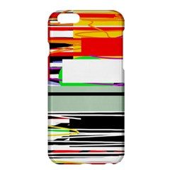 Lines And Squares  Apple Iphone 6 Plus/6s Plus Hardshell Case by Valentinaart