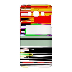 Lines And Squares  Samsung Galaxy A5 Hardshell Case  by Valentinaart