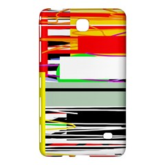 Lines And Squares  Samsung Galaxy Tab 4 (7 ) Hardshell Case  by Valentinaart