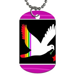 Bird Dog Tag (one Side) by Valentinaart