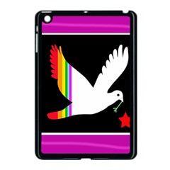 Bird Apple Ipad Mini Case (black) by Valentinaart