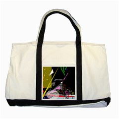 War Two Tone Tote Bag
