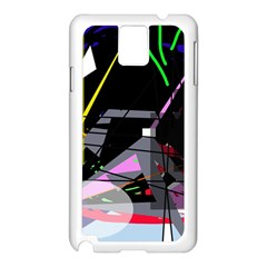 War Samsung Galaxy Note 3 N9005 Case (white) by Valentinaart