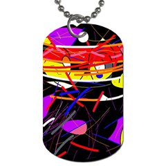 Revolution Dog Tag (one Side) by Valentinaart