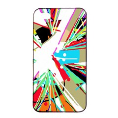 Colorful Big Bang Apple Iphone 4/4s Seamless Case (black) by Valentinaart