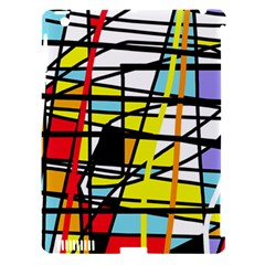 Casual Abstraction Apple Ipad 3/4 Hardshell Case (compatible With Smart Cover) by Valentinaart