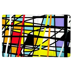 Casual Abstraction Apple Ipad 3/4 Flip Case by Valentinaart