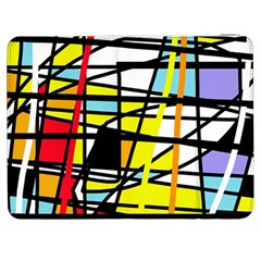 Casual Abstraction Samsung Galaxy Tab 7  P1000 Flip Case by Valentinaart