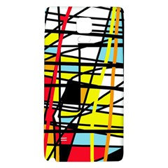 Casual Abstraction Galaxy Note 4 Back Case