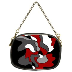 Creative Spot   Red Chain Purses (one Side)  by Valentinaart