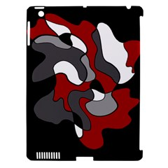 Creative Spot   Red Apple Ipad 3/4 Hardshell Case (compatible With Smart Cover)