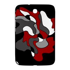 Creative Spot   Red Samsung Galaxy Note 8 0 N5100 Hardshell Case  by Valentinaart