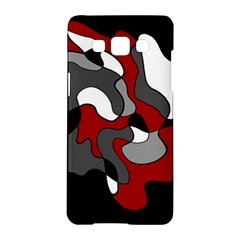 Creative Spot   Red Samsung Galaxy A5 Hardshell Case