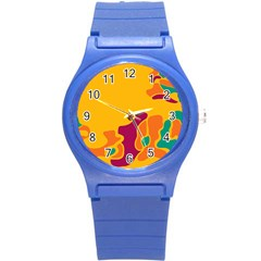Colorful Creativity Round Plastic Sport Watch (s)