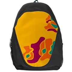 Colorful Creativity Backpack Bag by Valentinaart
