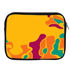 Colorful Creativity Apple Ipad 2/3/4 Zipper Cases by Valentinaart
