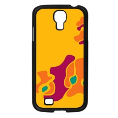 Colorful Creativity Samsung Galaxy S4 I9500/ I9505 Case (black) by Valentinaart