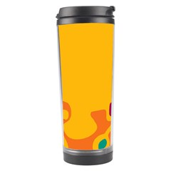 Colorful Creativity Travel Tumbler by Valentinaart