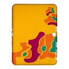 Colorful Creativity Samsung Galaxy Tab 4 (10 1 ) Hardshell Case  by Valentinaart