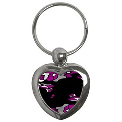 Magenta Creativity  Key Chains (heart)