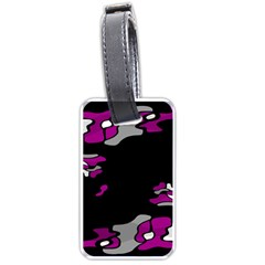 Magenta Creativity  Luggage Tags (one Side)