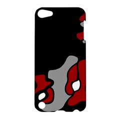Red Creativity 2 Apple Ipod Touch 5 Hardshell Case by Valentinaart