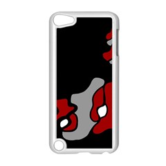 Red Creativity 2 Apple Ipod Touch 5 Case (white) by Valentinaart