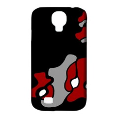 Red Creativity 2 Samsung Galaxy S4 Classic Hardshell Case (pc+silicone) by Valentinaart