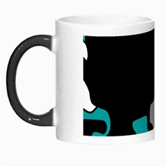 Cyan Creativity 2 Morph Mugs by Valentinaart