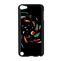 Colorful Twist Apple Ipod Touch 5 Case (black) by Valentinaart