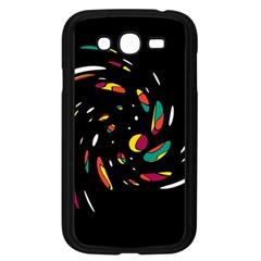Colorful Twist Samsung Galaxy Grand Duos I9082 Case (black) by Valentinaart