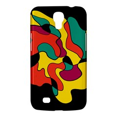 Colorful Spot Samsung Galaxy Mega 6 3  I9200 Hardshell Case by Valentinaart