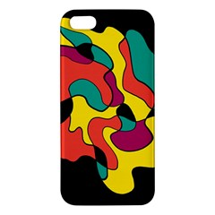Colorful Spot Iphone 5s/ Se Premium Hardshell Case by Valentinaart