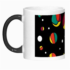 Colorful Dots Morph Mugs by Valentinaart