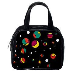 Colorful Dots Classic Handbags (one Side) by Valentinaart